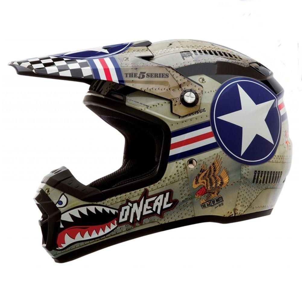 954ac35a 2015 O'Neal Youth 5 Series Wingman Dirt Bike Off-Road ATV Quad Motocross  Helmets