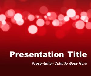Red marketing powerpoint template is a free red powerpoint red marketing powerpoint template is a free red powerpoint template with light blur effect toneelgroepblik Gallery