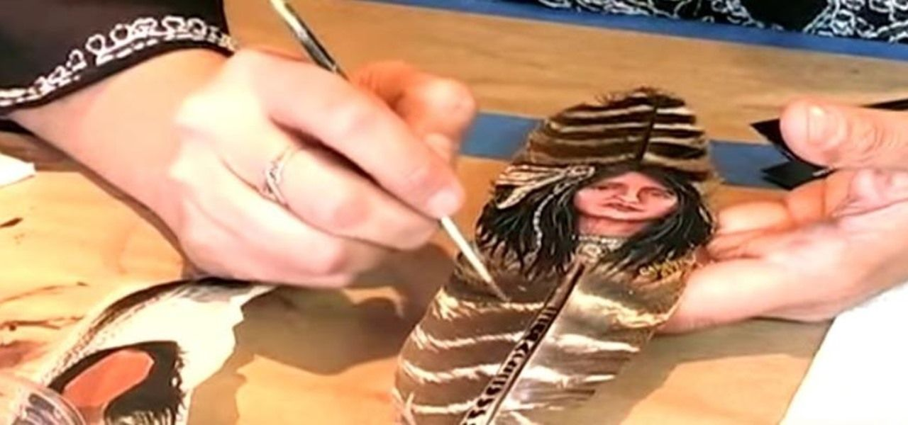 How to Do Acrylic Painting on Feathers « Painting Tips