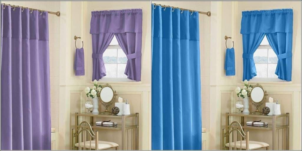 Kmart Bathroom Window Curtains
