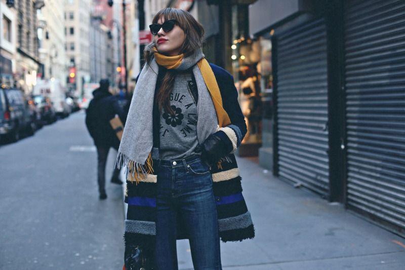 Alexa Chung for AG Jeans | #NatalieSuarez #NatalieOffDuty #ACforAG