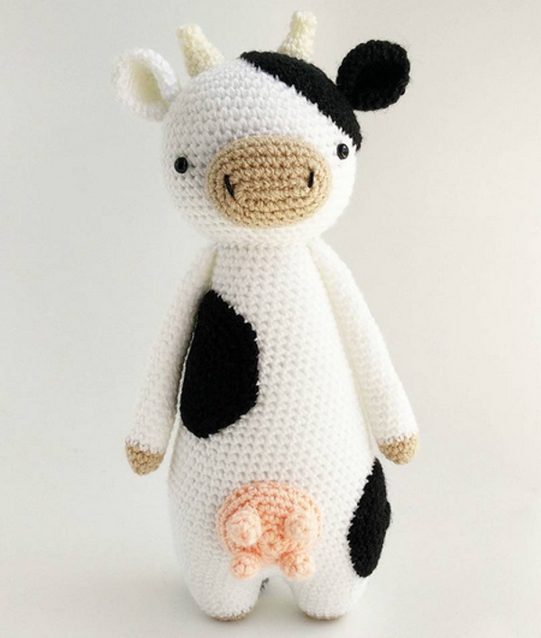 Vaca Lola- Amigurumi - YouTube | 707x600
