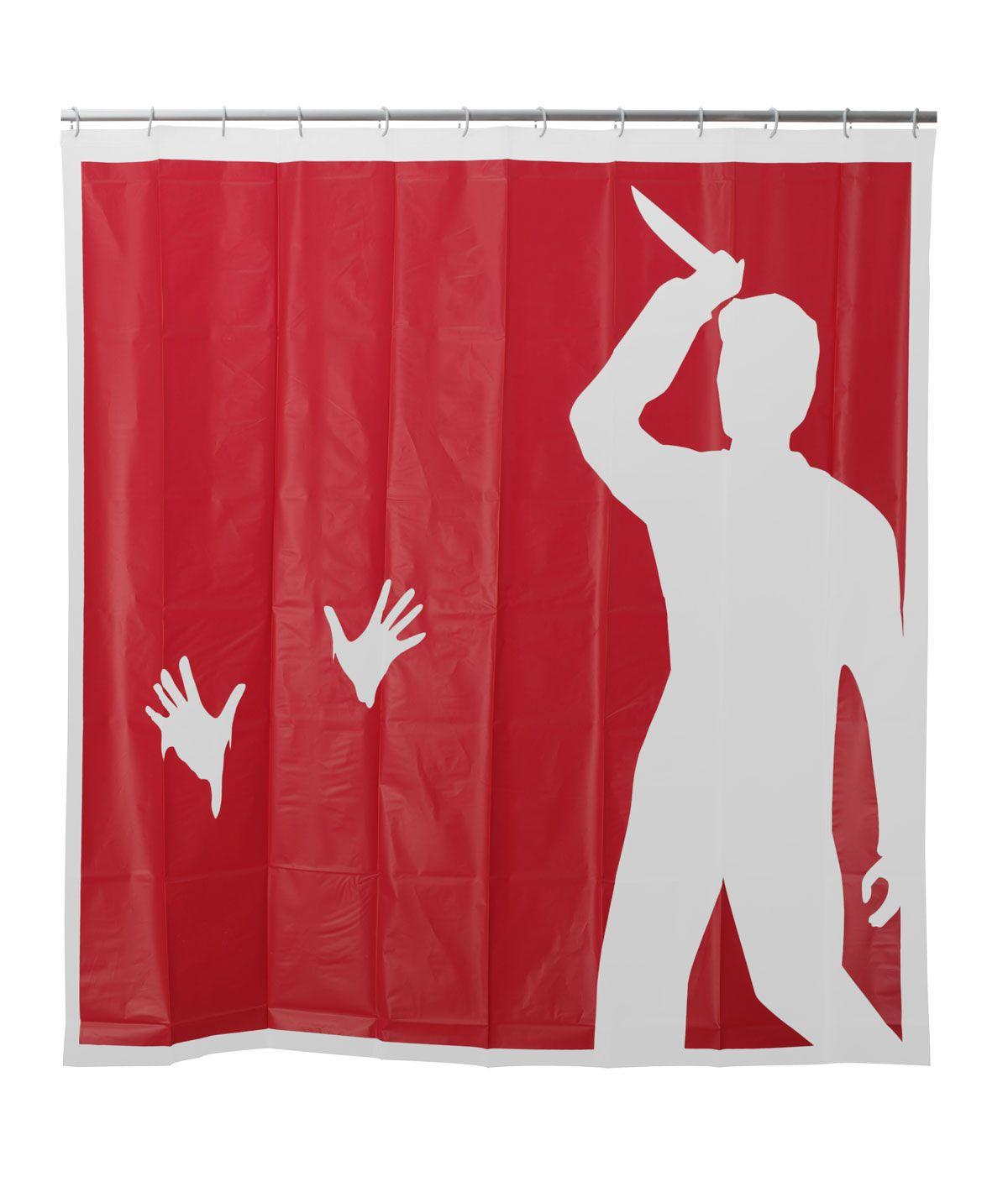 Psycho Shower Curtain Psycho Shower Scene Stabbing Curtain
