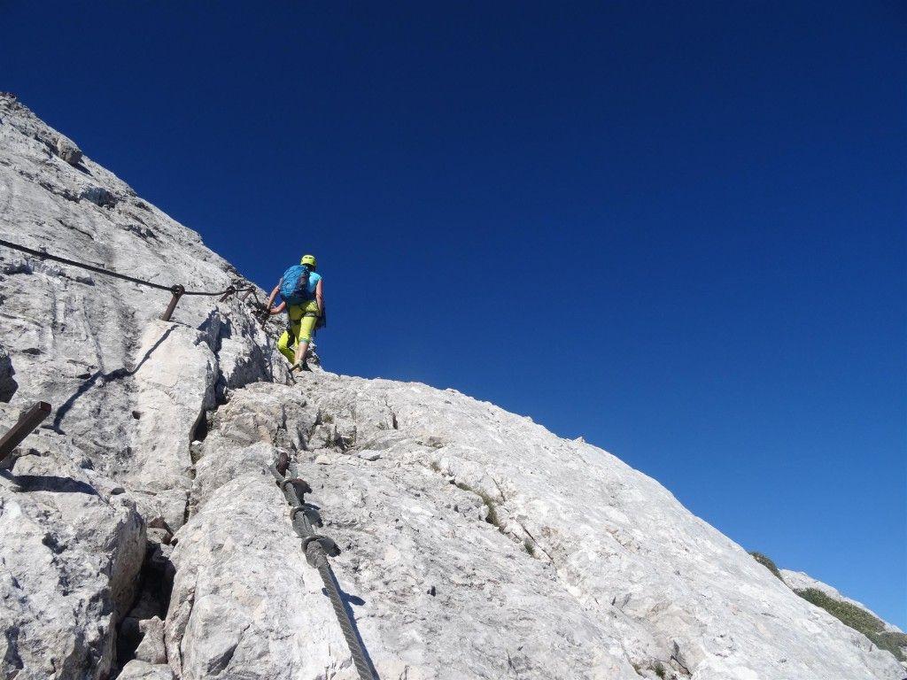 Klettersteig Alpspitze : Klettersteig alpspitze natur