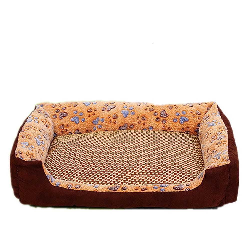 Thick and Warm Pet Nest Mats Large and Small Dogs Golden