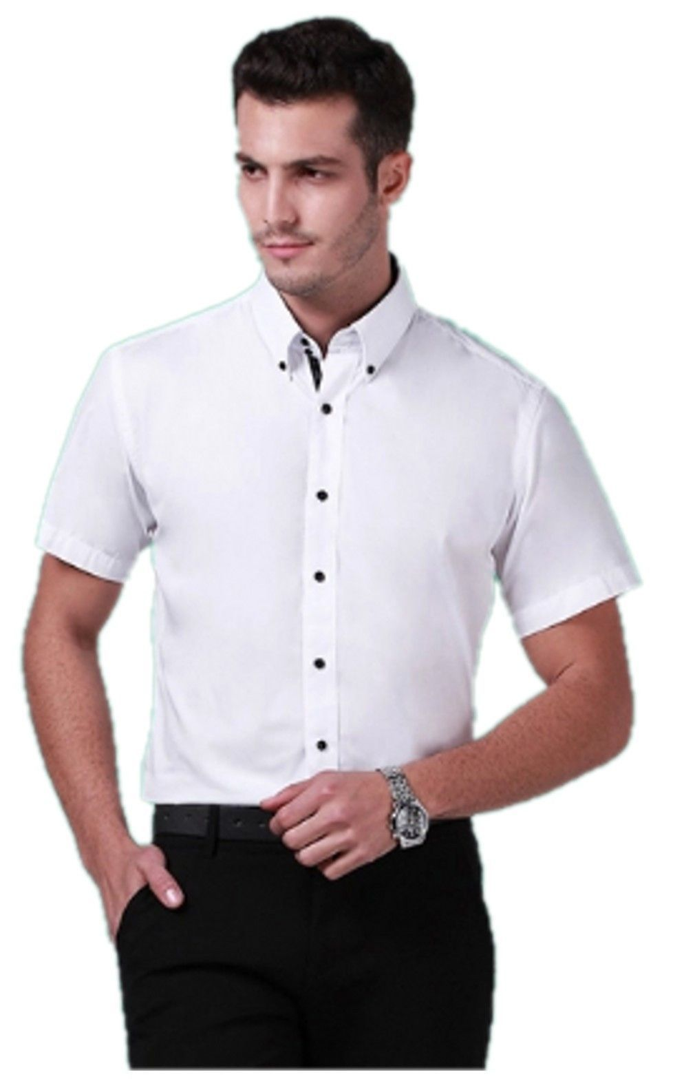 Mens Designer Fitted Short Sleeve Shirts Bcd Tofu House
