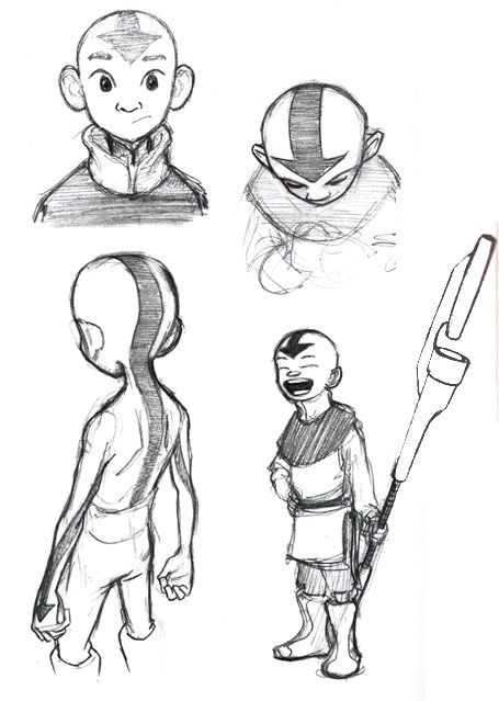 avatar the last airbender concept art Google Search