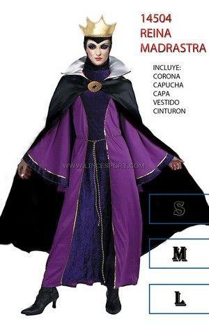 disfraz madrastra de blancanieves 24,95€ | halloween | pinterest