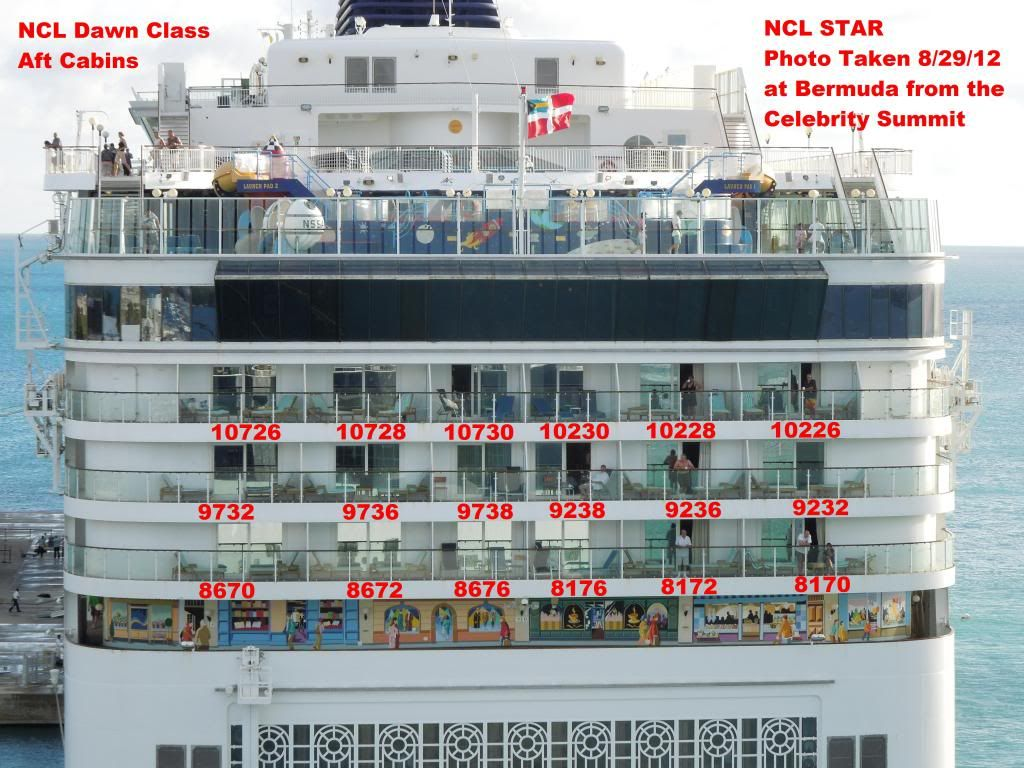 NCL Star Aft Cabins Cruise Critic Message Board Forums