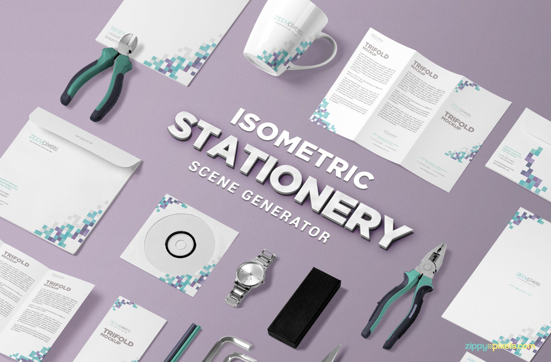 free isometric stationery psd scene creator zippypixels resume download sample format of cv for job application email to send