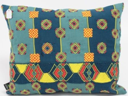 100% Cotton Pillow Embroide 16x12 Sn Rafael Petzal