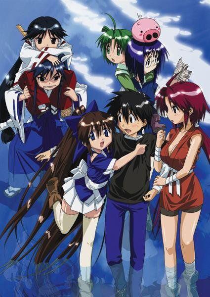 Nagasarete Airantou Genres Comedy Ecchi Fantasy Harem Romance