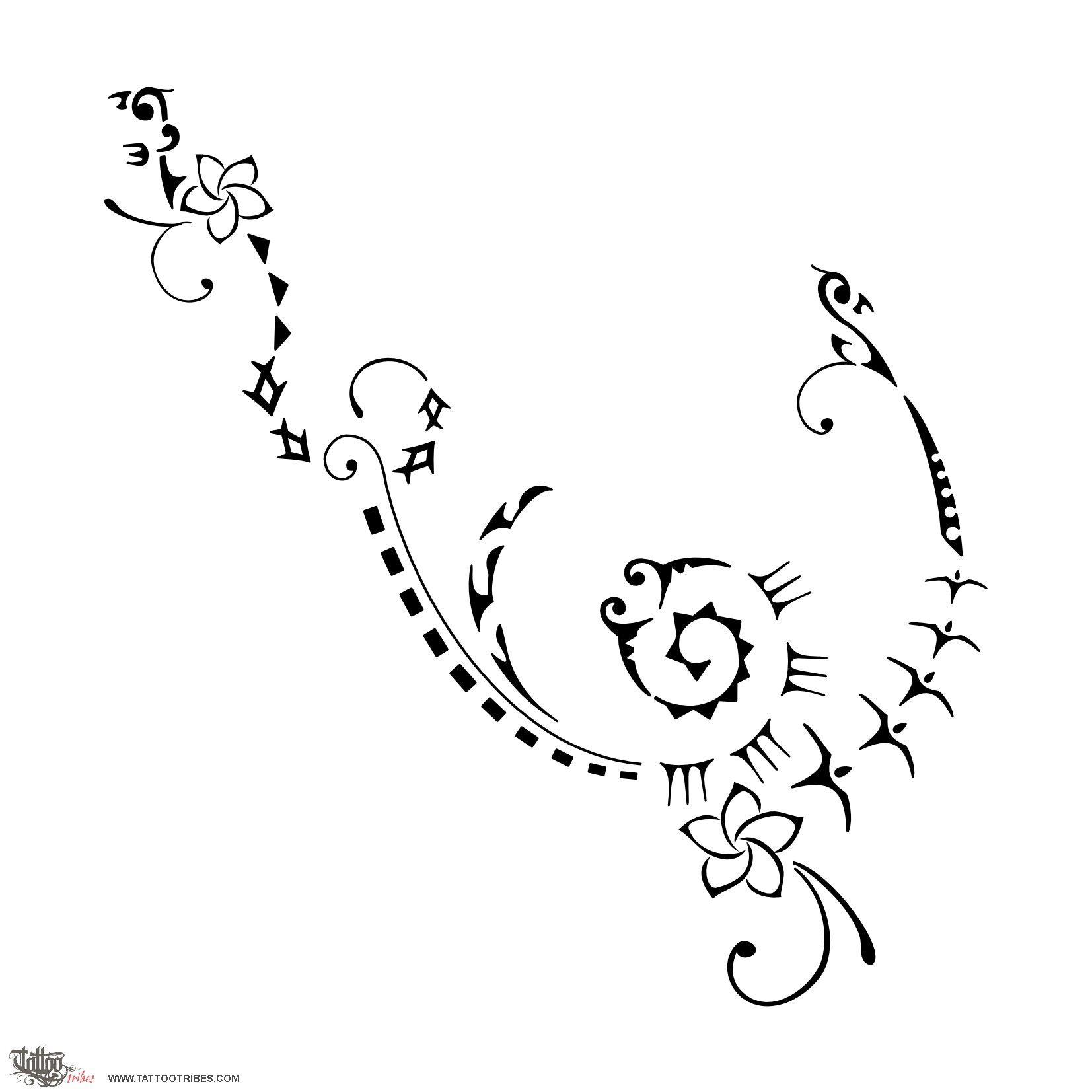 tatuaggio di forza interiore rinascita tattoo custom