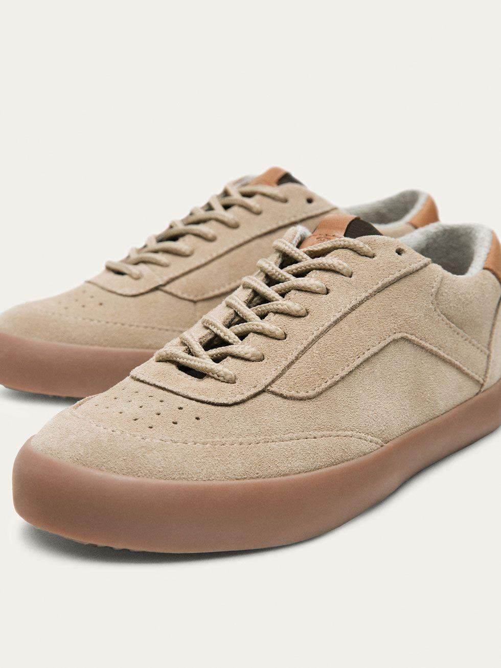 5cfc5d59 BAMBA PIEL ARENA de NIÑOS - Zapatos - Tallas 32 - 39 de Massimo Dutti de