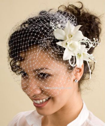 3 Ways To Veil Your Curly Crown Black Wedding Hairstyles