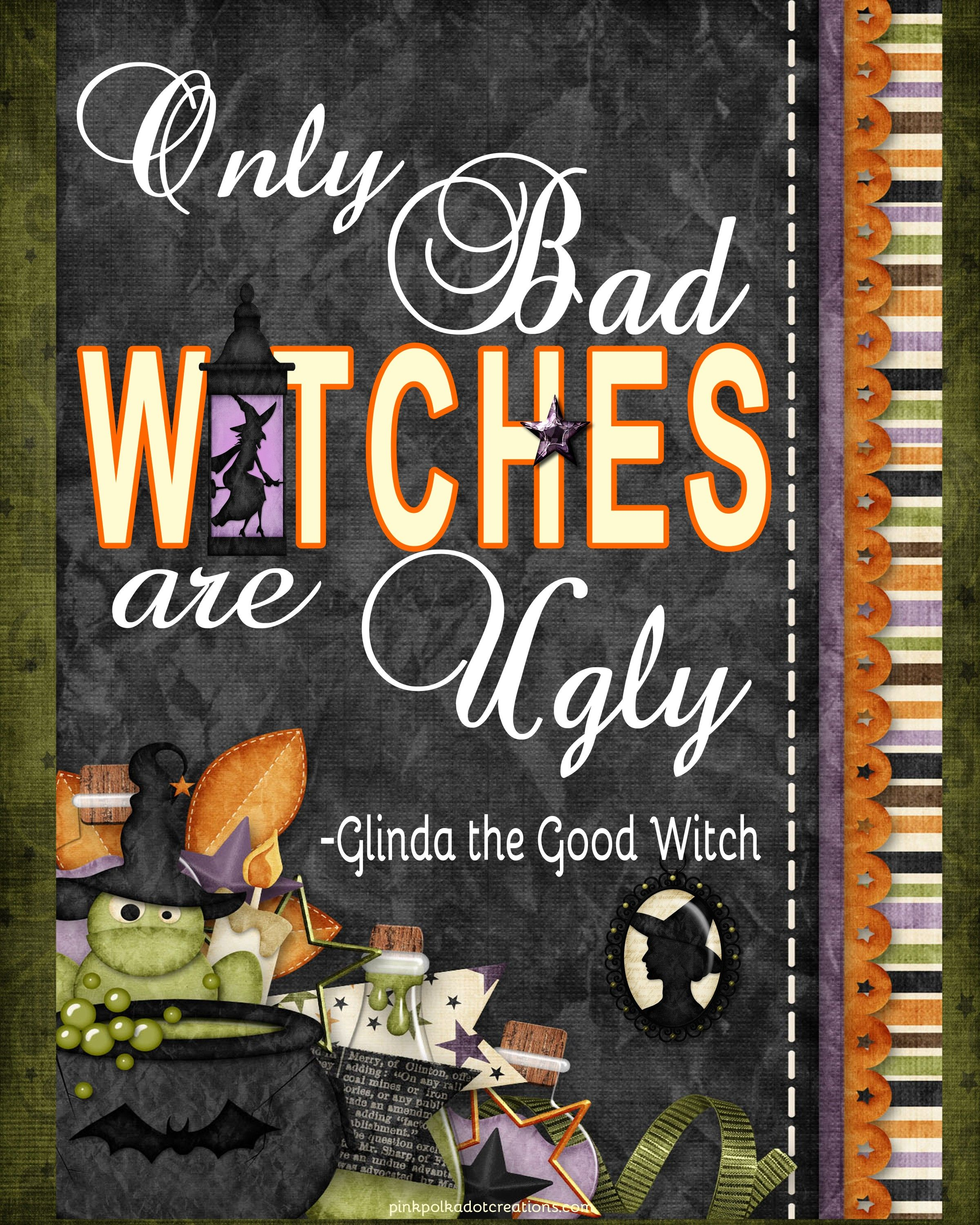 Thursday\u0027s Thought -Only Bad Witches Pinterest Witches