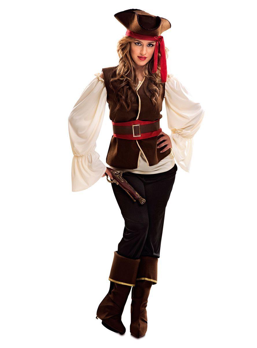 84dff89ac Traje de bucanera pirata para mujer | Comprar online | Disfraces de ...