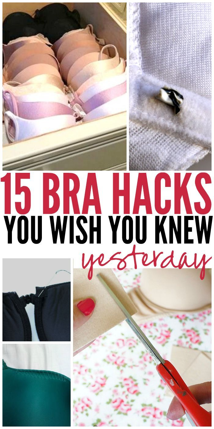 15 BRA HACKS YOU NEEDED YESTERDAY | Fashion Hacks, DIY ...