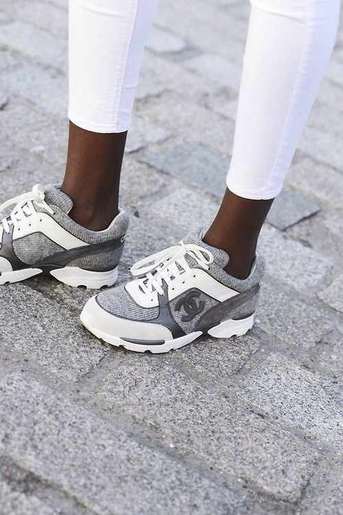 Baby Baby Baby Chaussure Sneakers, Chaussures De Luxe, Chaussure Chanel,  Basket Tendance, e84ae7ab133