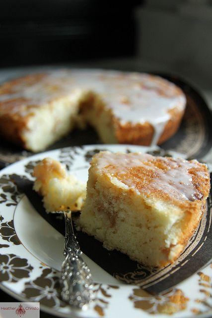 Cherry Almond Buttermilk Cake Heather Christo Eat Dessert Dessert Recipes Cake Servings