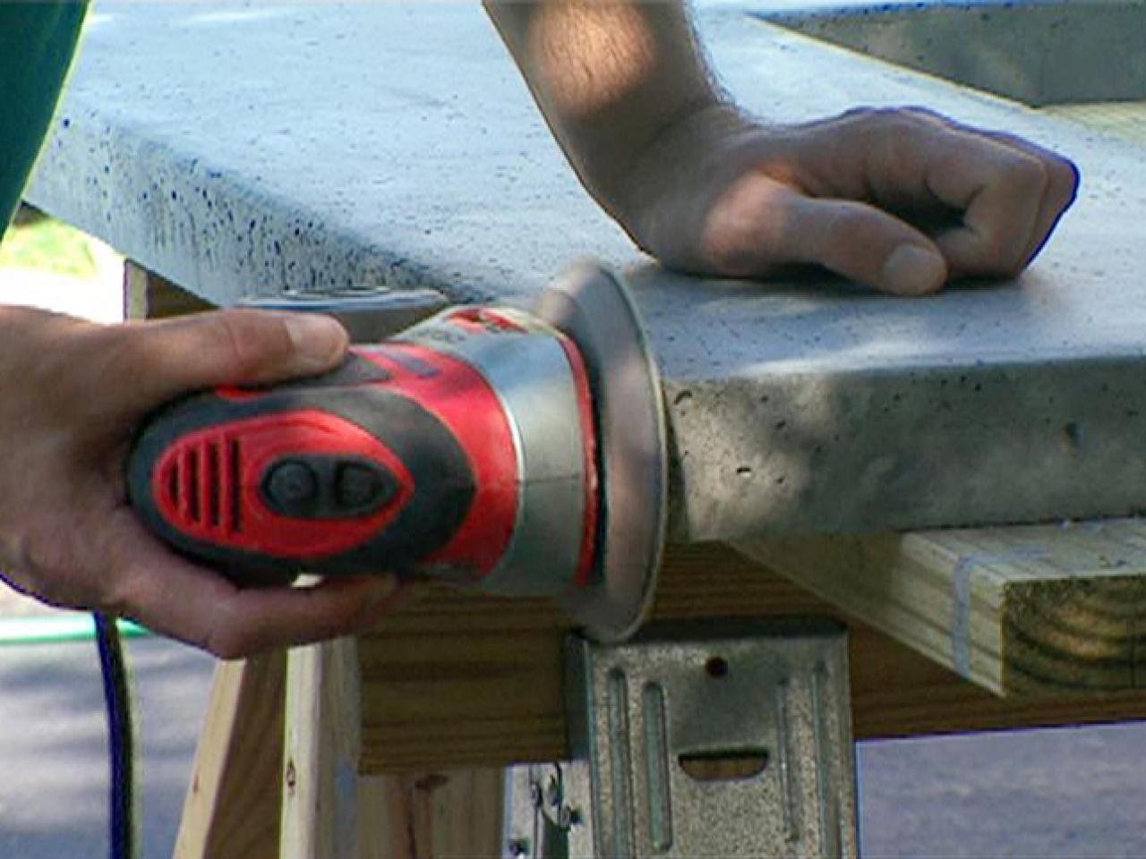 How to make a concrete countertop howtos diy