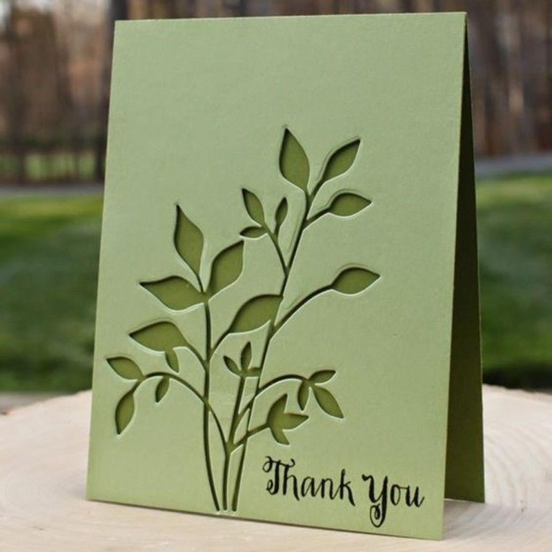 Leaf Cutting Dies Stencil For Diy Scrapbooking Album Paper Card Embossing Craft Unbranded