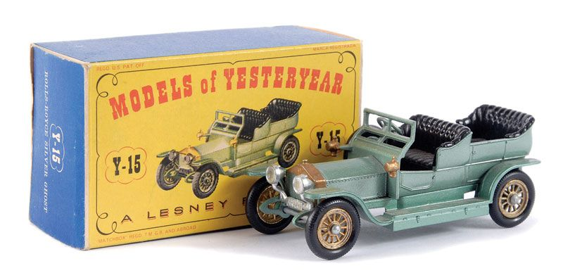 Matchbox Models of Yesteryear Choice of Many