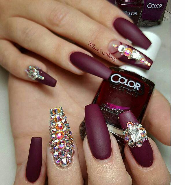 Pin de Lissy en nails | Pinterest | Diseños de uñas