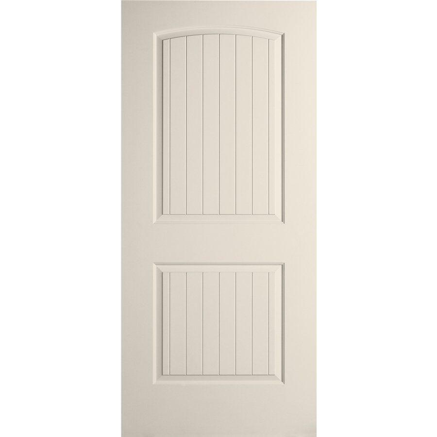 Reliabilt 16sfjn 2 Panel Molded Roundtop Plank Smith Slab Door