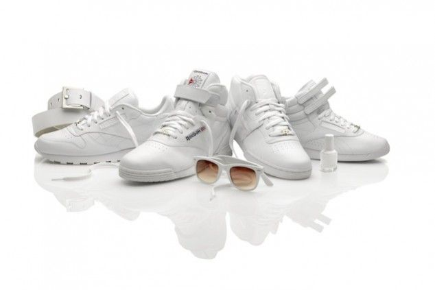 Reebok All-White Pack: Classic. #myfitpin