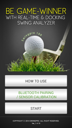 - Swingpro200 is a mobile application program that enables golfers to analyze <br>  and correct their golf swing in real time by themselves. <p>- Swingpro 200  sends the swing information to  smart phone as soon as  impact is performed.<p>- Through various swing data such as swing plane, impact speed, rhythm&tempo, face angle, swing path, lie angle, attack angle of putter,<br>back & follow swing distance of putter, it can allow golfers to analyze their own swing. Also by providing 3D…