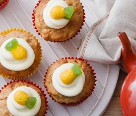 Hummingbird Cupcakes: These sweet little hummingbird cakes are made from real banana and pineapple pieces. http://www.bakers-corner.com.au/recipes/allens/hummingbird-cupcakes/