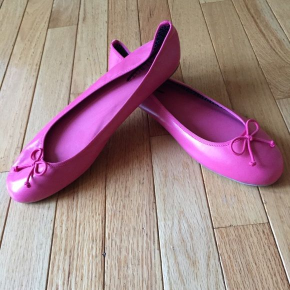 hostess pick! NWT Pink ballet flats Direct from samples. Smoke free. k Talbots Shoes Flats & Loafers