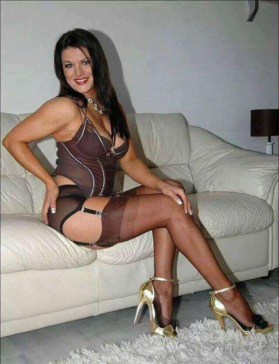 Hot milf stockings