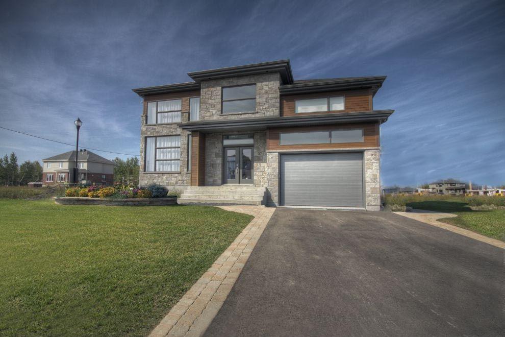 Cottage Contemporain Extérieur - maison neuve à vendre Zenco ...