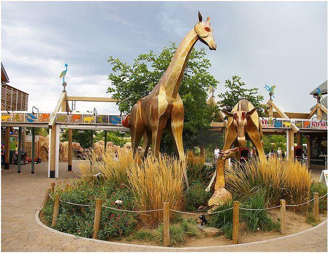 Entry Gateway, Denver Zoological Gardens, Denver, USA, by CLD Design