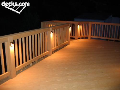 Decking lights deck ideas pinterest picket fences decking and decking lights aloadofball Images