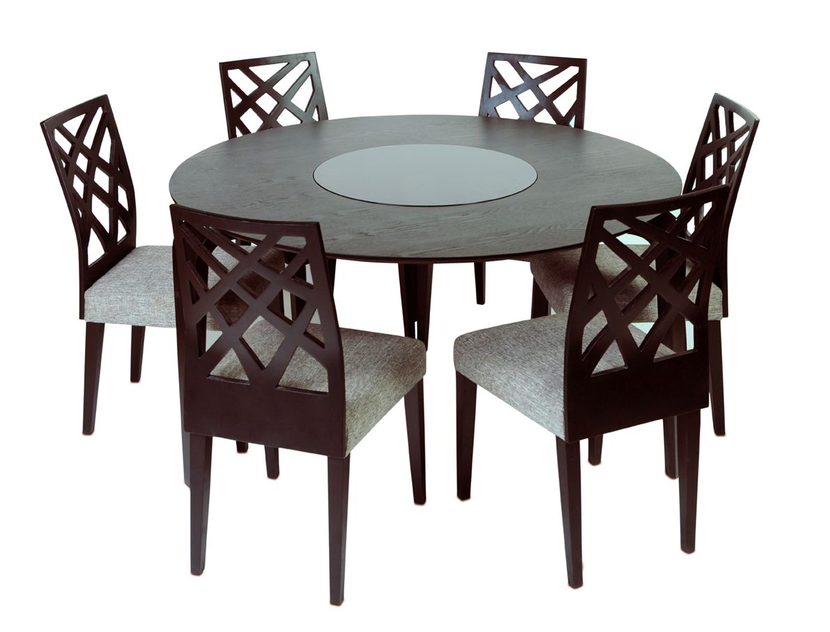 Lazy Susan For Table Gorgeous Neo Lazy Susan Dining Table  Marla Chair  This Table Stands As Decorating Inspiration