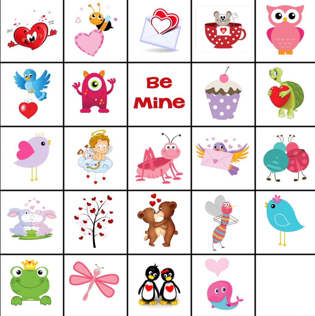 Free Printable Valentine Memory Game Valentines games
