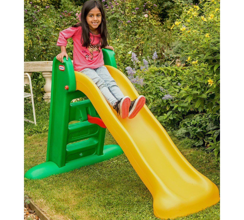 Buy Little Tikes 5ft Easy Store Kids Garden SlideYellow