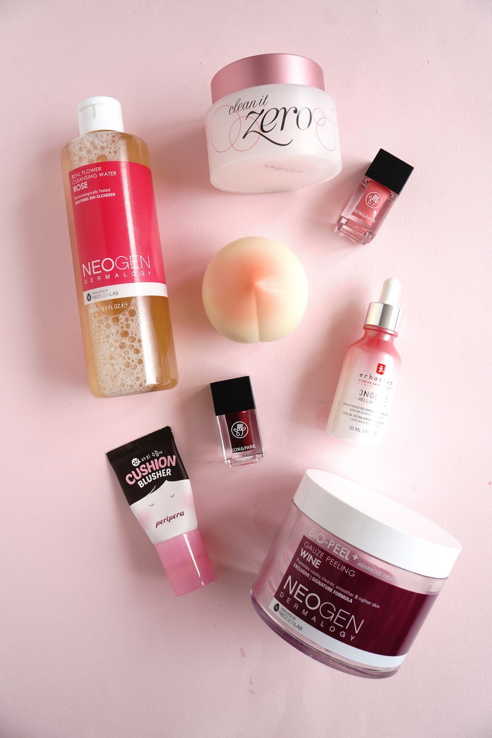 Pink Kbeauty products for pink lovers. Achieve a sweet