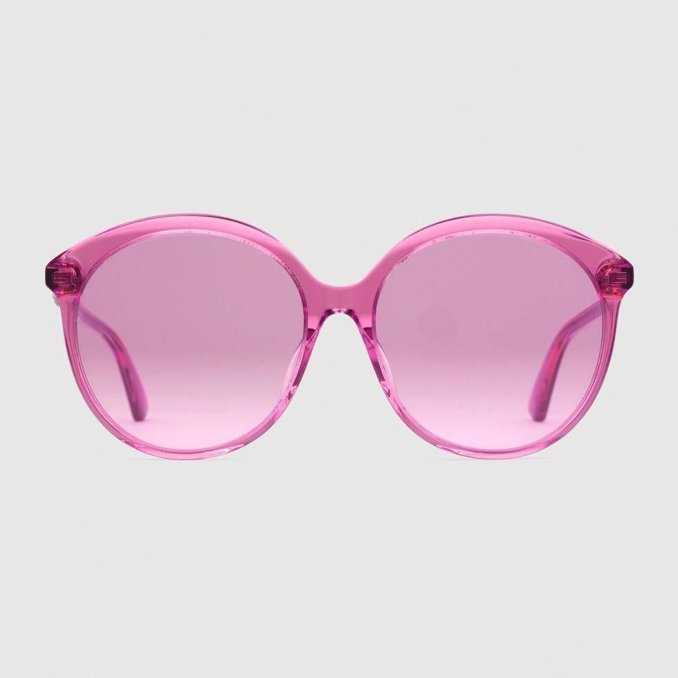 9cad5cdd18 Shop the Specialized fit round-frame acetate sunglasses by Gucci.   Guccihandbags