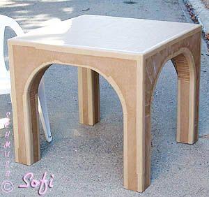table carrée | carton | pinterest | tables carrées, carrés et table