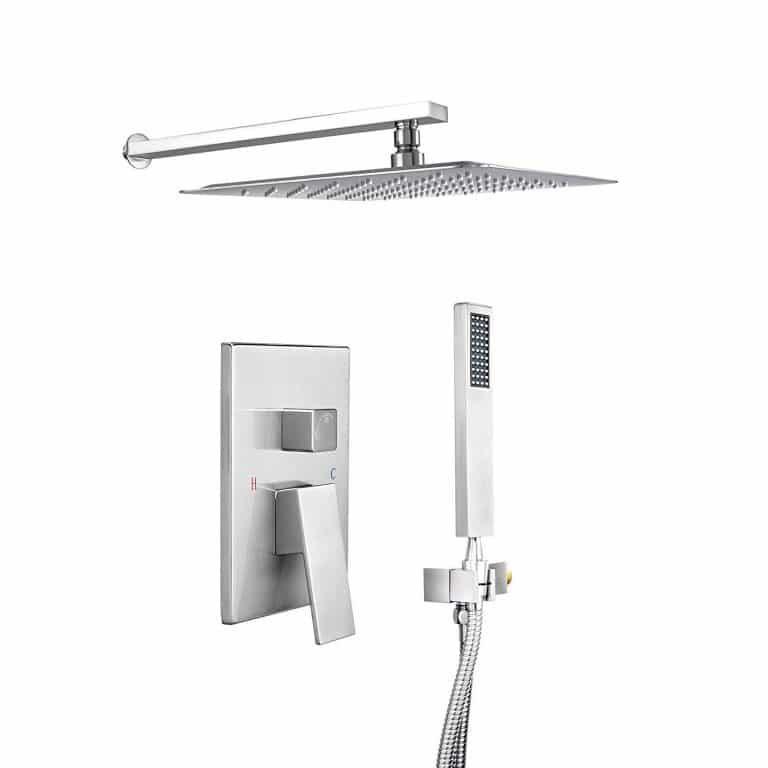 Top 10 Best Rain Shower System With Hand Showers In 2020 Review With Images Shower Systems Rain Shower System Rain Shower