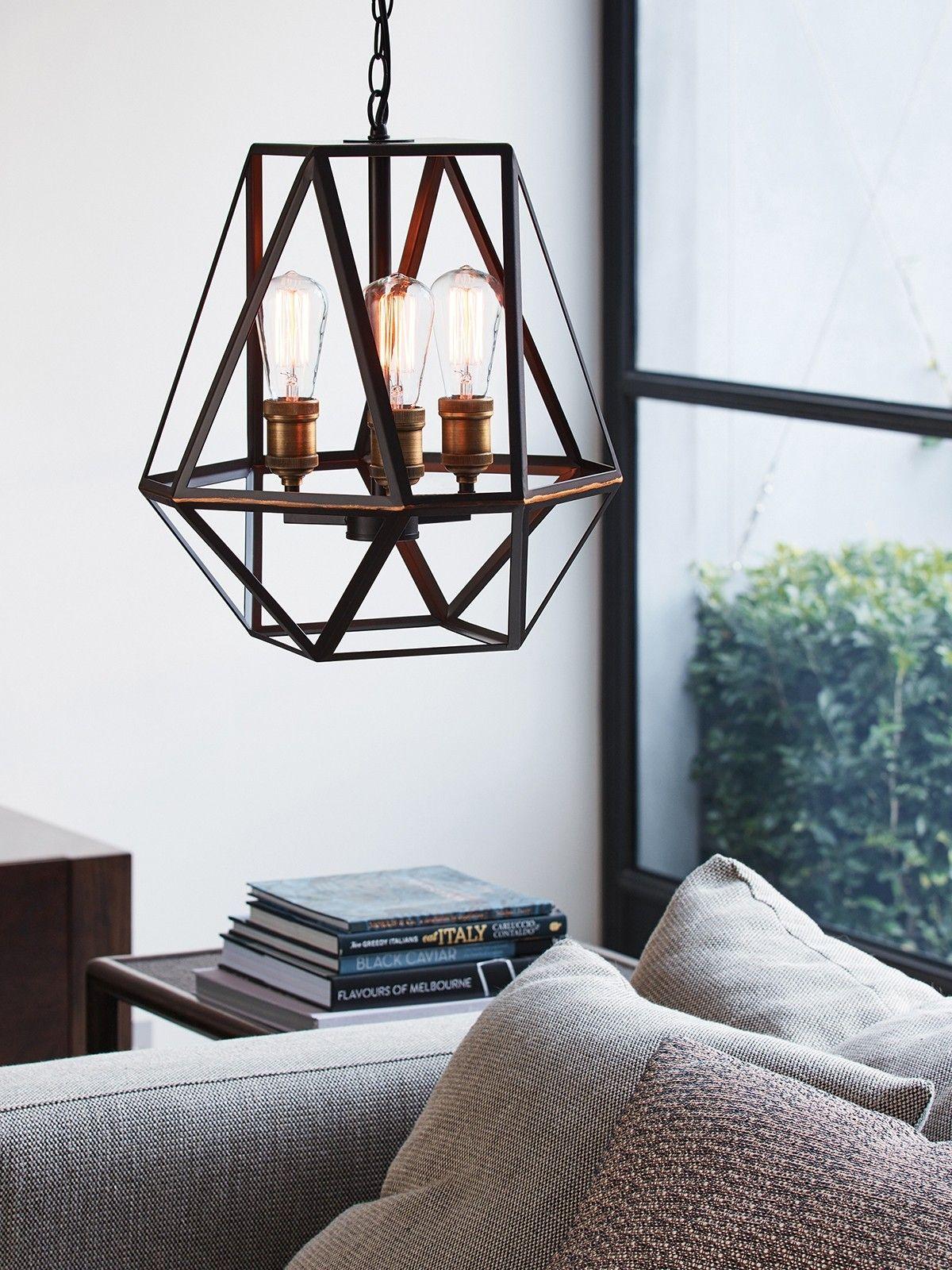 Vaille 3 Light Pendant In Oil Rubbed Bronze Oil Rubbed Bronze Light Fixtures Industrial Pendant Lights 3 Light Pendant