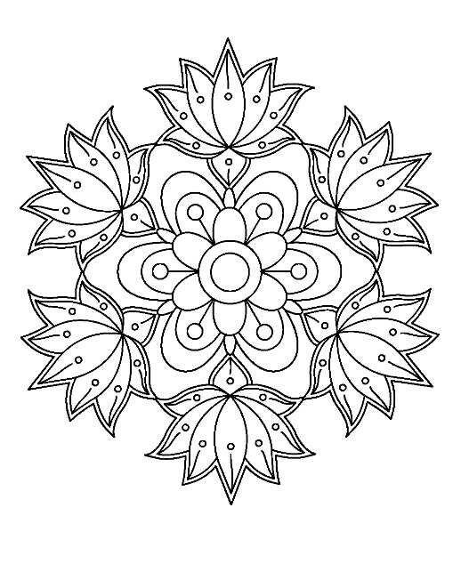 Pin Von Shwetisme Auf Brico Malvorlagen Mandala Malvorlagen Ausmalbilder Mandala