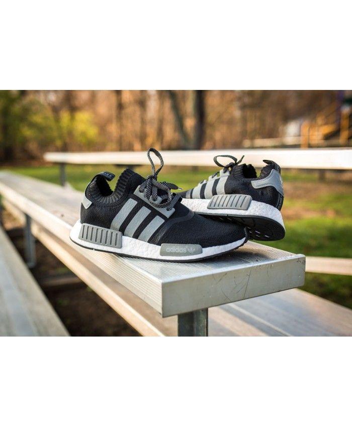 Authentic PK Schuhe Adidas NMD Runner PK Authentic schwarz Grau Sell Am billigstenly 498261