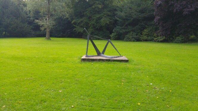 Sitting statue, Bad Oeynhausen