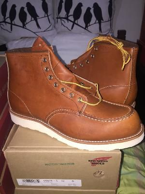 174278f4 Red Wing 875 Factory Seconds - D 12.0 - 46 - 30 cm - 9457424 | Red ...
