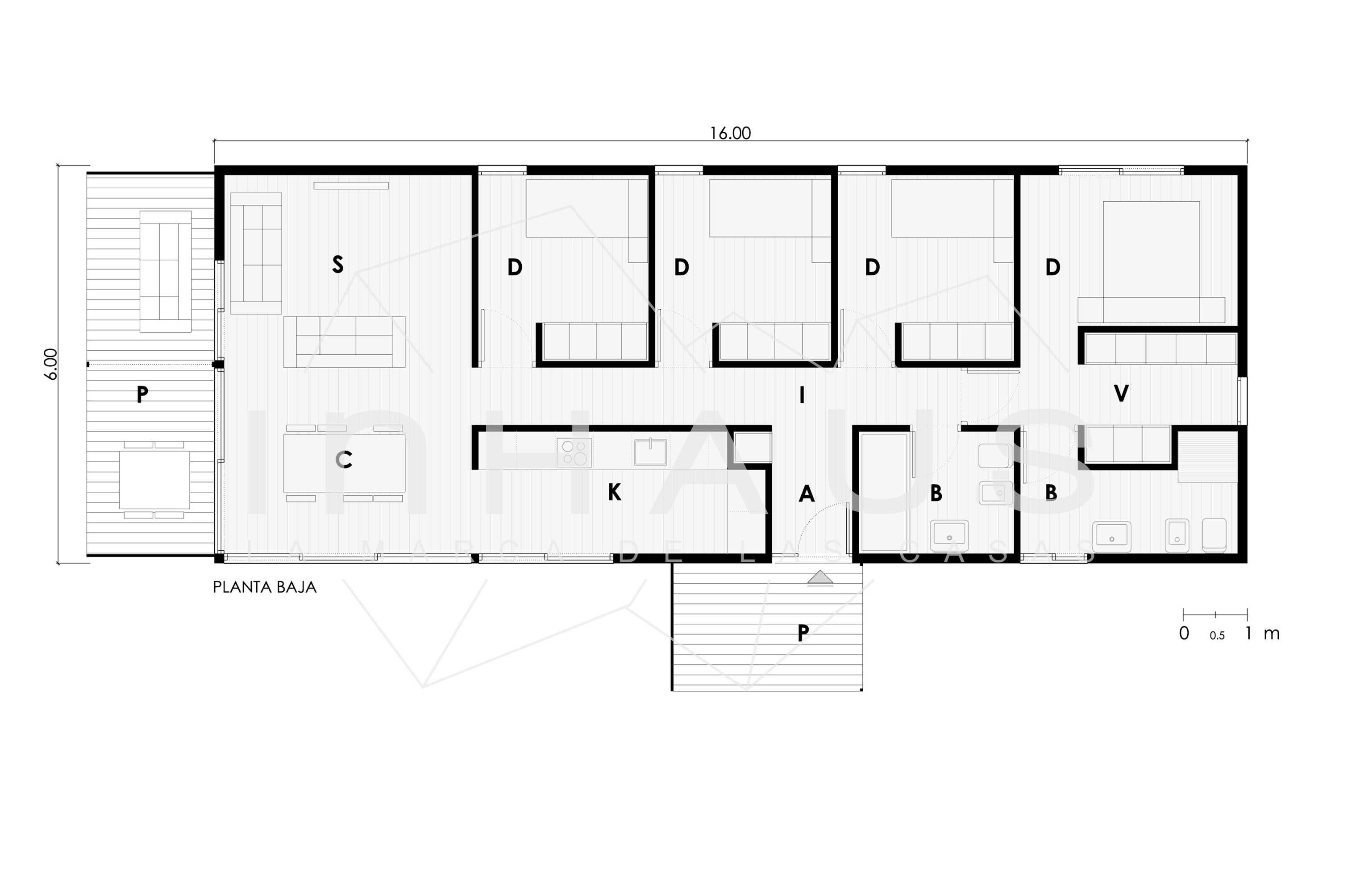 planos de casas modernas modulares